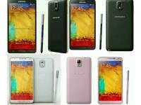 Unlocked Brand New Samsung Galaxy Note 3 32gb Open To All Networks Mostly All Colours