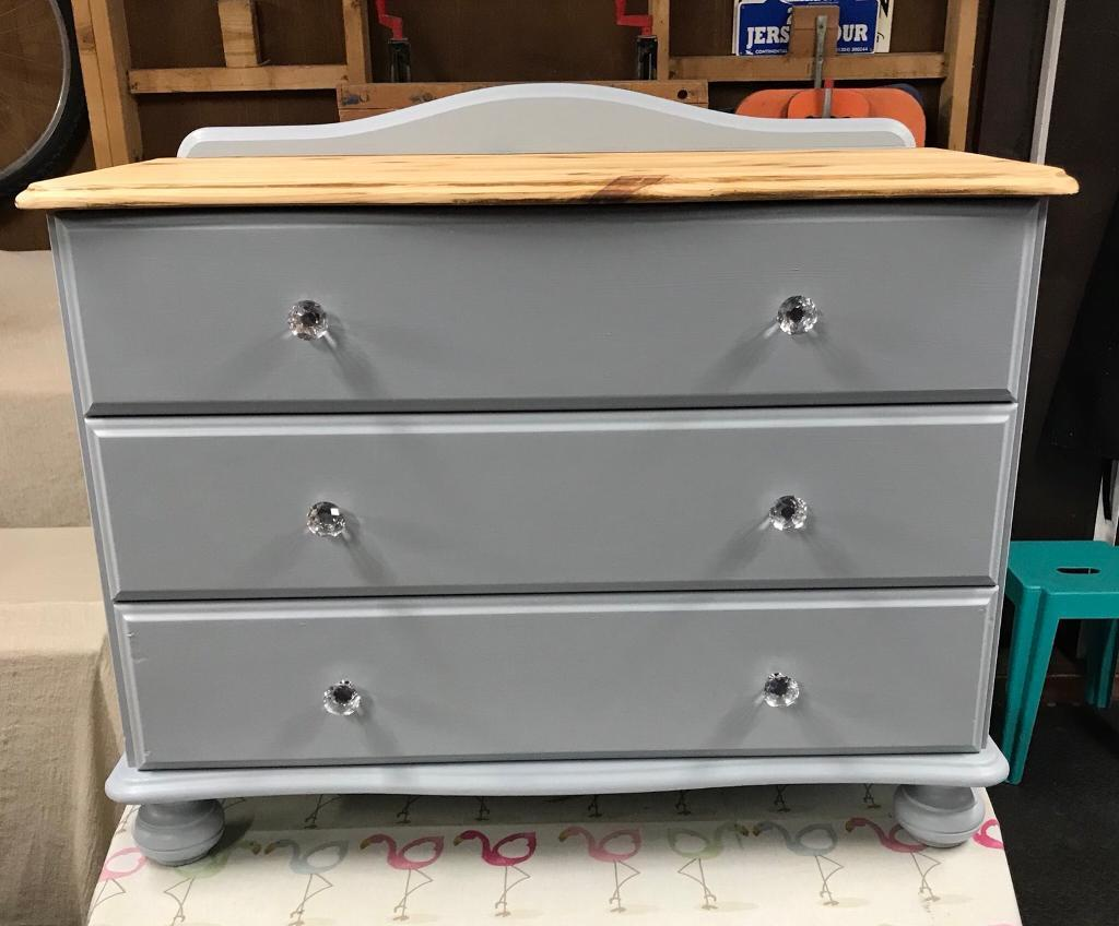 Refurbished Furniture Vintage And Pine Items Chest Of Drawers