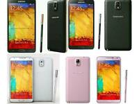 Brand New Unlocked Samsung Galaxy Note 3 32gb Black And White Colour Fully Boxed Up