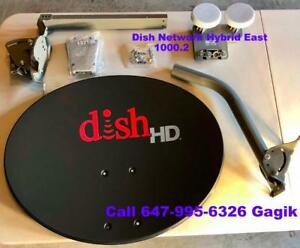 Dish Network Satellite Dishes & Recivers  SW44 or 1000.2 or 500 PLUS DP LNB's