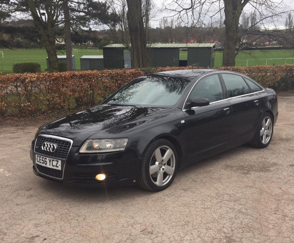 2007 56 audi a6 2 0 tdi 140 bhp 6 speed manual s line in. Black Bedroom Furniture Sets. Home Design Ideas