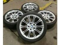 "18"" BMW MV2 ALLOY WHEELS & TYRES 5x120(1/3/5 SERIES , VW T5, VIVARO,RENAULT TRAFFIC,INSIGNIA)"