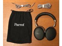 Parrot Zik 3 - Black Grain - Noise Cancelling Wireless Headphones - Perfect condition
