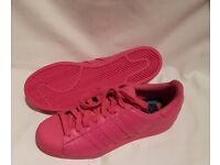 Brand New Adidas Pink Shoes - Mens Sz. 8