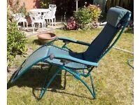 Lafuma Garden Reclining Chair - comfortable and ergonomic