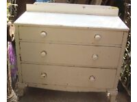 Free chest of draws solid wood