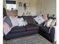 Corner Sofa and Large Swivel Chair