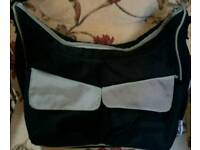 Boots nappy bag in great condition. Nappies bottles clothes travel storage.
