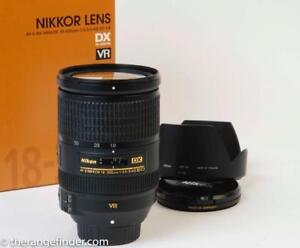 Nikon AF-S 18-300mm f3.5-5.6G ED VR DX Lens Boite et Recu