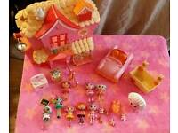 Lalaloopsy playhouse and lots of accessories