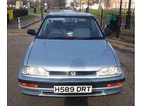 1990 Honda CONCERTO SALOON EX AUTO, classic car, barn find, not civic GL, accord