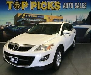 2010 Mazda CX-9 AWD, LEATHER, SUNROOF, NAVIAGTION, ALLOY WHEELS