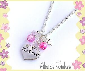 Personalised-Necklace-Childrens-Jewellery-Big-Sister-Little-Sister-Daughter
