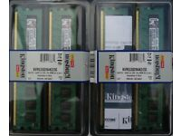 Kingston PC2 DIMM 4 X 1GB