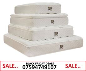 """BLACK FRIDAY DEALS TRADE PRICE DREAMS SILENT NIGHT MATTRESSES 14"""" MEMMORY FOAM FAST DELIVERY"""