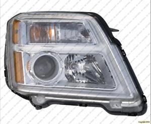 Head Light Passenger Side [2010-2015 Exclude 2013-2015 Denali] GMC Terrain