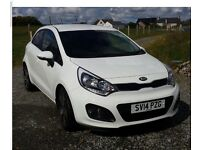 5 door kia rio in excell condition