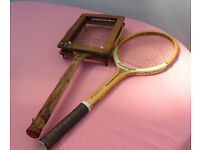 Squash, Tennis Racquet - for Display. Vintage, Retro, Period, Collectable, Ornament