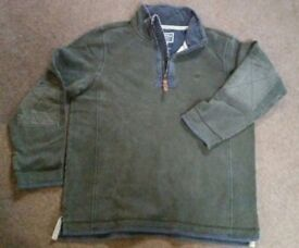 Mens Fat face jumper sweater Top Large