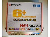 motherboard 1155 socket RARE biostar