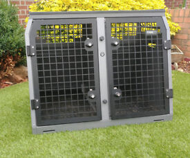 TransK9 Dog Crate - large model - TransK9/B21 - suitable for many vehicles