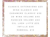 Eyelash Extensions Redditch