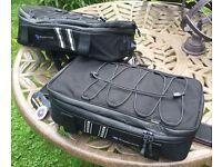 Wunderlich Bagpacker 3 pannier top bag for extra touring storage BNWT L & R, not touratech