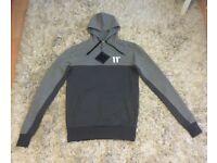 11 degrees hoodie men's xs new