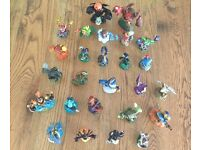 Skylander figurines for Wii with portals