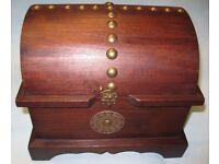 Handmade Thai Wooden Jewelry and Cosmetics Box