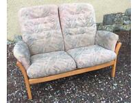 Ercol two seater couch