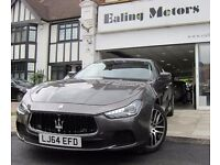 2014 MASERATI GHIBLI,AUTO,PETROL,FULL OPTIONS,SAT NAV,LEATHER,WIFI,BLUETOOTH,ONLY 6684MILES,1 OWNER