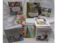BOOKS - BRAND NEW - Sewing/Quilting/Patchwork/Applique/Fabric/Craft/Upholstery/Children's/Clothes., used for sale  Ealing, London
