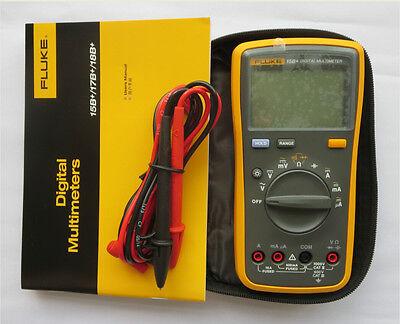 New FLUKE 15B+ F15B+ Digital Multimeter Meter with LED Backlight