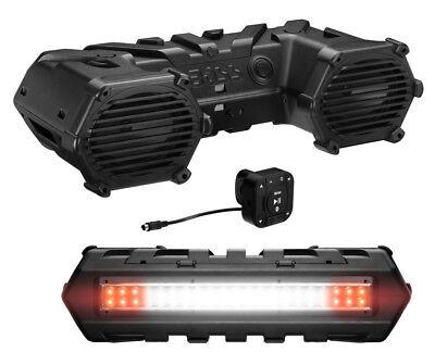 Купить Boss Audio Amplified Bluetooth ATV Speakers Sound System with LEDs | ATVB69LED