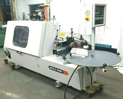 2007 Holzher Sprint Edgebander Model 1310-1 Woodworking Machine Watch Video