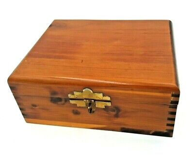 Jewelry Box--Hand Crafted from Red Cedar and Sycamore Wood