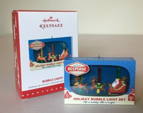 Hallmark 2015 Ornament BUBBLE LIGHTS ~ NMIB