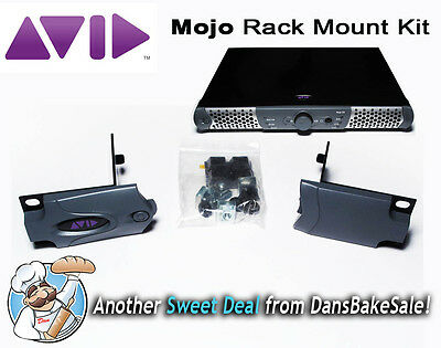 Avid Mojo Dx Rack Mount Kit 7010-20200-01 Rack Ears Hard ...