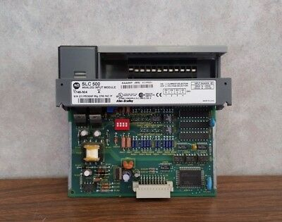 Allen-bradley Slc500 1746-ni4 Ser. A Analog Input Module