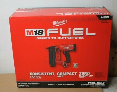 Milwaukee M18 Fuel 18 Gauge Brad Nailer Tool Only