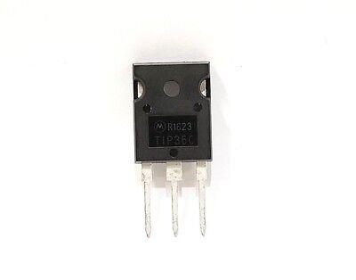 Tip36c Pnp Transistor 100v 25a New Original Motorola