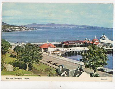 Pier & East Bay Dunoon 1985 Postcard 164b