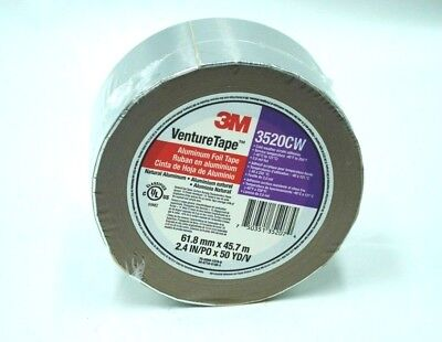 3520cw 3m Venturetape Hvac Aluminum Foil Insulation Tape 2.4 In X 50 Yards