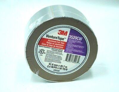 3520cw 3m Venturetape Hvac Aluminum Foil Insulation Tape 2.4 In X 50 Yards