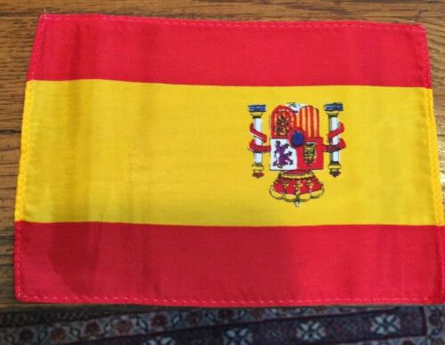 "Flags, Spain Small  3 X 5"" Flags, 50 Count Lot"
