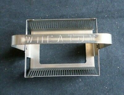 Wheaton 30-slide Metal Staining Rack W Handle 900234