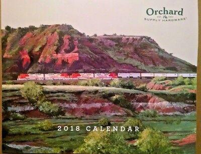 OSH 2018 Train Calendar