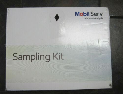 Mobil Serv Mobil Serv Lubricant Oil Analysis Sample Bottle Kit White Cap/Black