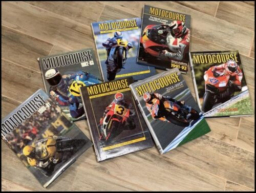 Motocourse Collection of Books